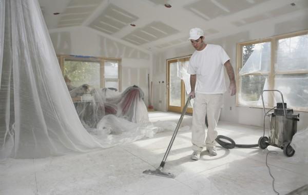 Limpeza em prédios e domicílios